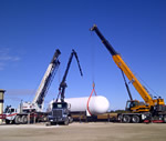 Thumbnail image of anhydrous ammonia tank tandem lift