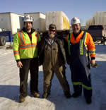 Thumbnail image of hanging out with The Bear from Ice Road Truckers