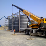 Thumbnail image of putting up a water treatment plant for hydro
