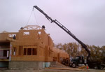 Thumbnail image of lifting rafter sections